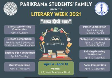 साहित्यिक सप्ताह – २०२१  (Literary Week – 2021) सम्पन्न ।